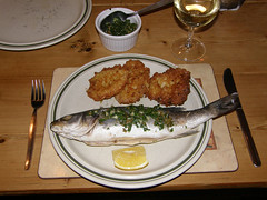 sea bass as served