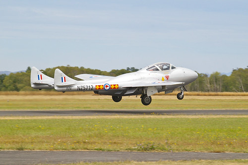 Warbird picture - De Havilland Vampire