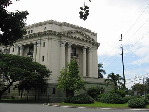 Fachada del Museo Nacional de Filipinas