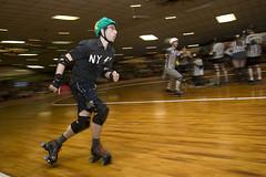 Harm City Homicide vs. New York Shock Exchange (epmd_derby) Tags: rollerderby championshipbout charmcityrollergirls mobtownmods nightterrors speedregime junkyarddolls puttyhillskateland harmcityhomicide newyorkshockexchange