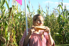 brianna loves the maize!