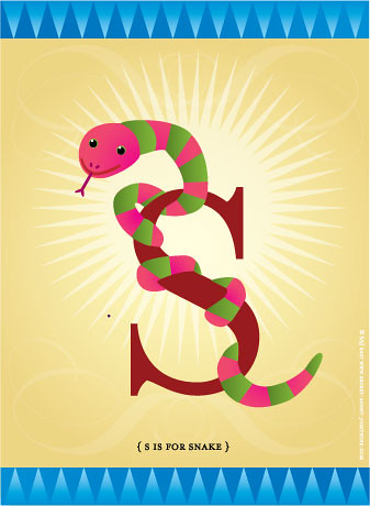 S is for Snake!