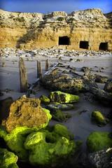 Willunga Boat Caves (Charlie 2.0) Tags: beach adelaide southaustralia oldjetty willungabeach