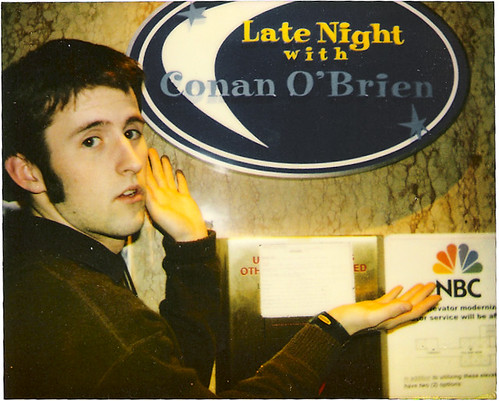 Intern Meik at Conan back in '02