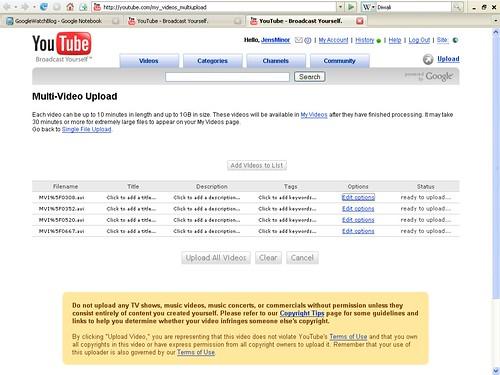 YouTube Uploader