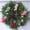 stocking wreath