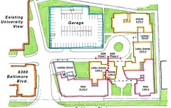 University View Groundfloor siteplan