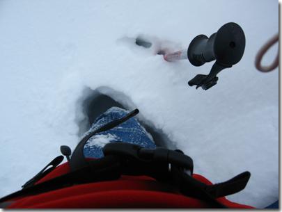 Neve verso il lago Soprano della Sella (Rif. Livio Bianco)