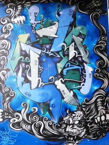 Dragon Graffiti