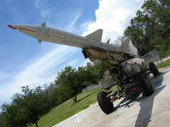 Aircraft, SA-2 Guideline, big missile! (divemasterking2000) Tags: sam arms weapon soviet warsaw missile iraqi antiaircraft surfacetoair sa2 sead guideline antiaicraft