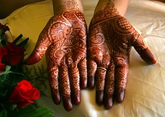 Henna's Hennaed Hands (cmac66) Tags: wedding india hands henna mumbai weddingday mehndi smrgsbord 10faves excapture