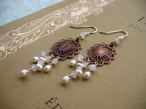 Snowflake Chandelier earrings