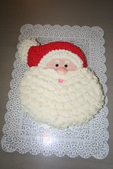 Santa Claus Cake (Jens Creations) Tags: birthday santa christmas party holiday cakes face cake japan usmc happy hand jens homemade merry iwakuni decorated clause jenscakes