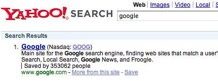 Yahoo Drops Numbers