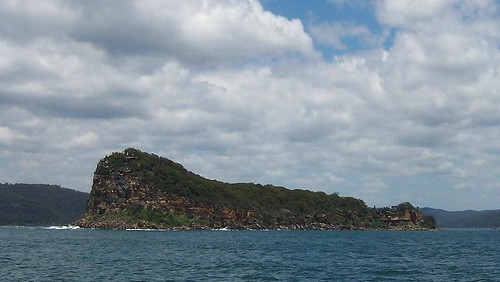 Lion Island, looking south from the Palm Beach ferry