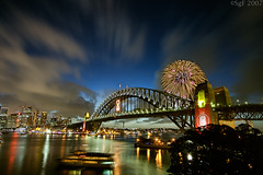 9pm Spectacular on Sydney Harbour (sachman75) Tags: fireworks nye harbourbridge sydneyharbour 1022 interestingness149 i500 400d 9pmfireworks diamondclassphotographer auselite theperfectphotographer lpbest2007