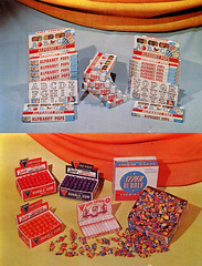 Alphabet Pops & Donruss Bubble Gum