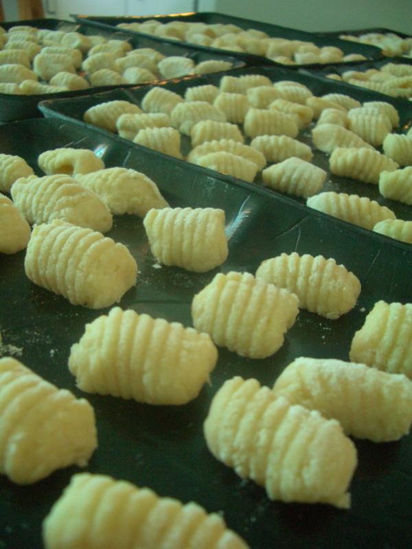 Gnocchi closeup