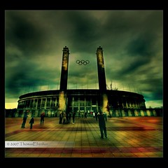 Olympiastadion Berlin (tom29ger) Tags: berlin sports nature sport canon germany concrete deutschland lights athletics europe contemporary photoshopped natur sigma olympia olympic stadion landschaft photoshopcs2 sights achitecture mainentrance olympiastadion osteingang sehenswrdigkeiten haupteingang sigma1020 olympicstadion tonemapped amazingshot olympiastadionberlin nohdr berlinerolympiastadion mywinners theothervillage tom26ger tom29ger olympicstadionberlin