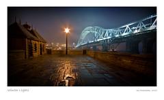 Runcorn Bridge, England (Ian Bramham) Tags: bridge england mist night photography photo image fineart bridges explore photograph northern merseyside theperfectphotographer d40runcornbridge ianbramham