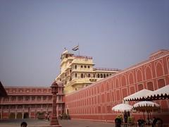Palace in Jaipur, India.