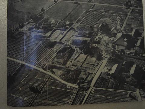 飛鳥寺-発掘画像