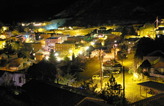Bisbee, Arizona at night