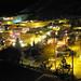 Bisbee, Arizona at night