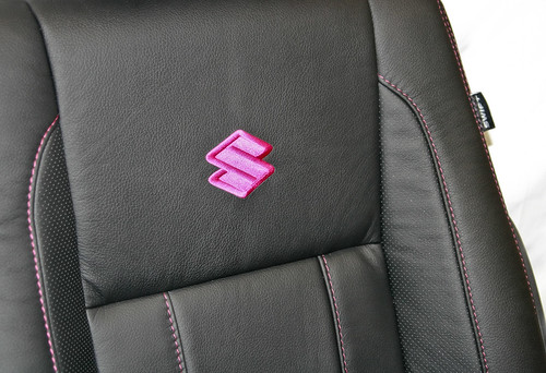 Suzuki Swift Black And Pink. Suzuki swift pink-kit by carmanleather. Front seat detail in Pink kit style. Anyone can see this photo All rights reserved. Uploaded on Feb 6, 2008