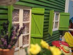 beach cottage (goldieholl) Tags: beach miniature cottage 112 dollhouse