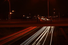Camera Club over the A45 (timandkirsty14) Tags: lights a45