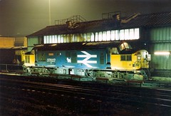 37 027 (hly524v) Tags: gateshead type3 locheil tmd scottydog englishelectric class37 fuelpoint greenesfield 37027