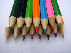 Colouring Pencils (rosswebsdale) Tags: color pencil pencils colours dof bright crayon pencilcrayons