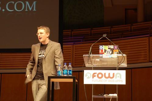 Matt Mullenweg at FOWA Miami
