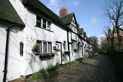 School Lane, Great Budworth (sezohanim) Tags: england village cheshire cobbles cottages greatbudworth