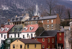 The Back Side of Town (paulv2c) Tags: steeple wv westvirginia harpersferry