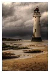 Majestic.. (jetbluestone) Tags: lighthouse beach sand hdr newbrighton aplusphoto fiveflickrfavs rickspixtop50 artinoneshot