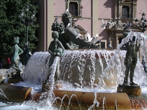Turia fountain