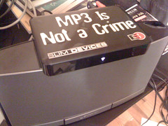 """MP3 Is Not a Crime"""