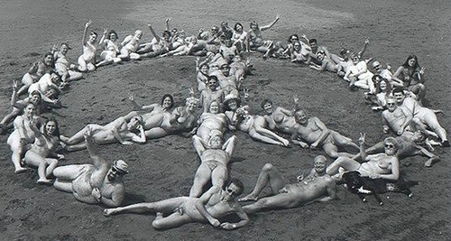 Naked for peace