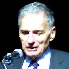 Ralph Nader challenges us to get active