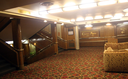 Can You Find the Spa? (Queen Mary Main Deck)