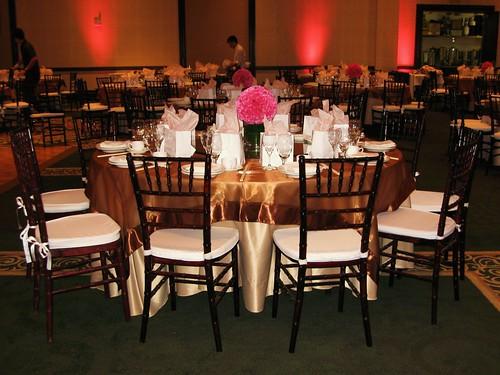 2440649777 ca54007d0c d Baú de ideias: Decoração de casamento rosa e marrom I