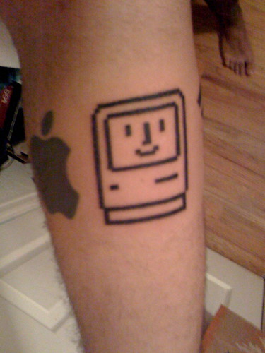 Robot Tattoo · Lego Tattoo · Happy Mac Tattoo