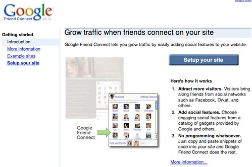 Google Friend Connect Introduces Social Widgets For Site Owners