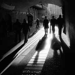 london bridge tunnel (Martino's doodles) Tags: road bridge blackandwhite sun london lights day cyclist shadows ditch untagged pavement save3 tunnel save7 save8 save save2 save9 save4 end keep save5 save10 save6 savedbythedeltemeuncensoredgroup londonist keep2 keep3 keep4 keep5 keep6 save11 keep7 keep8 save12 save13 keep9 keep10 fuckinggorgeous gx100 keep11 ditch2 hscpc ricohmeetprint ditch3 ditch6 ditch4 ditch5 ditch7