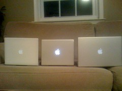 three Generation of macs