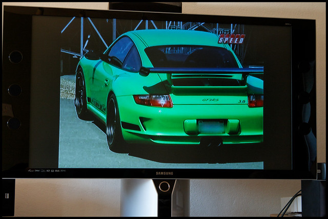 Alexs 997 GT3RS on Speed (TV not the drug) by antigone78