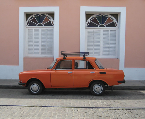 Car in Cienfuegos