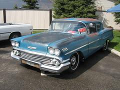 1958 Chevrolet Delray (dave_7) Tags: show chevrolet car del ray chevy costco 1958 2009 lethbridge patina delray 58